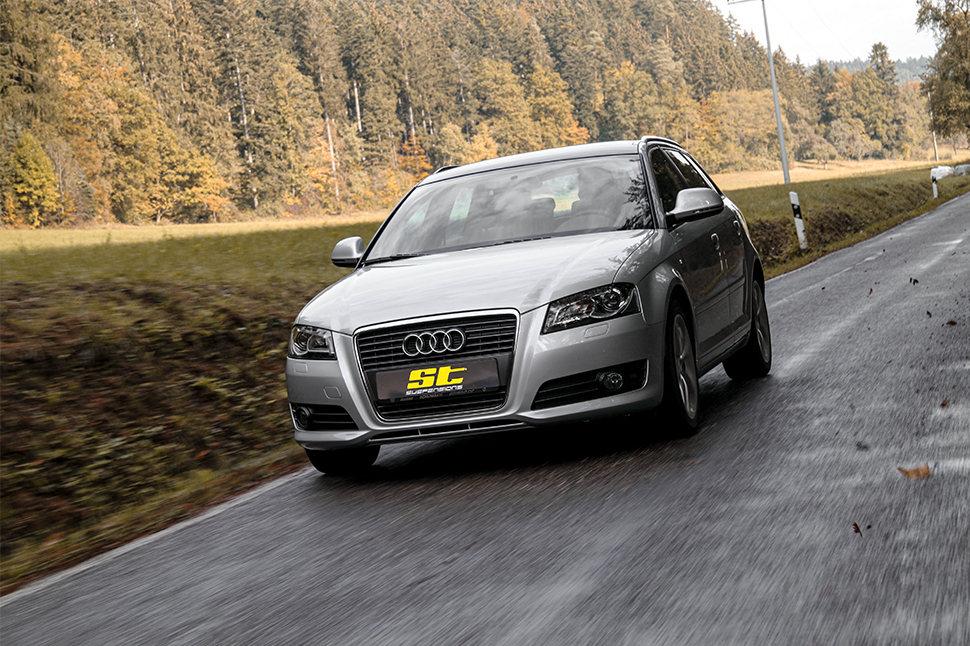 Durch das Teilegutachten kann ein Kfz-Sachverständiger unkompliziert den sachgemäßen Fahrwerkeinbau des ST Gewindefahrwerks in Deinem Audi A3 überprüfen und in die Fahrzeugpapiere eintragen.