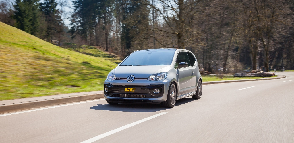 VW Up GTI Banner