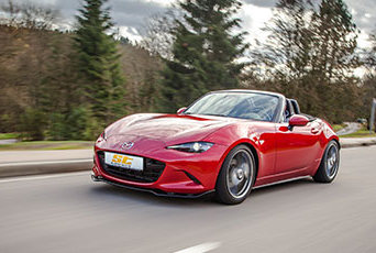 Für alle Mazda MX-5 haben wir ST Gewindefahrwerke im Lieferangebot