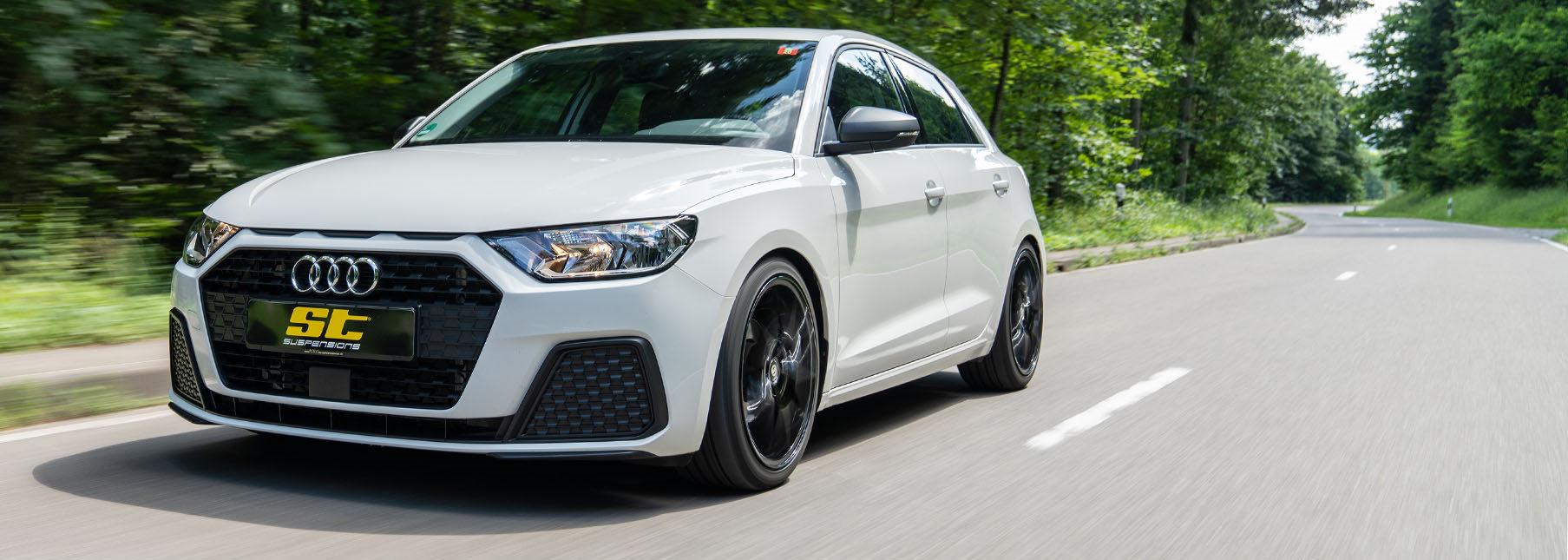 Für den Kleinwagen Audi A1 Typ GB sind ab sofort die ST Gewindefedern erhältlich.